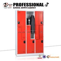 Office furniture z shape metal locker /clothes cabinet / steel locker