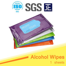Single sheet disinfecting OEM/ODM Alcohol Wipes and Swabs manufactory