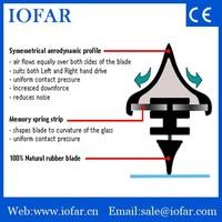 Flexible Factory wholesale wiper blade, Car accessory,Care wiper blade refill