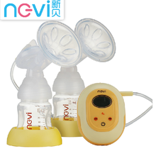 FDA CE APPROVED Microcomputer frequency conversion LCD screen double electric breast pump for first year mom BPA FREE