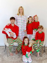 Wholesale 2015 christmas sets baby girls family/adult christmas pajamas family christmas pajamas