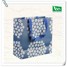 2015 New fancy customized logo printed gift bag,flower china gift paper bag manufactures