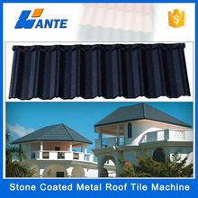 2015 Trade Assurance Al-Zn Coated steel Material and All style Type Roof Tile