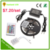 SMD5050 RGBW Color Changing Flexible LED Strip Light with led strip power supply