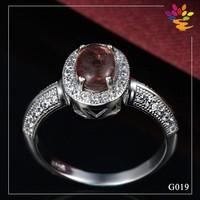 Men / Woman 925 Sterling Silver Diamond Ring,Fashion Indian Gemstone Jewelry Ring