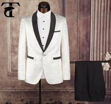 Nuevo estilo de vestido de boda occidental trajes para hombre