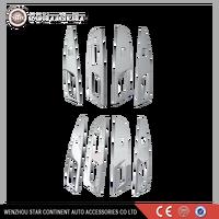 Car interior accessories ABS chrome body part armrest trim for s-cross