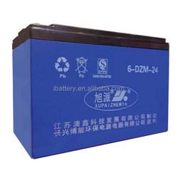 12V 24AH storage rechargeable batteries