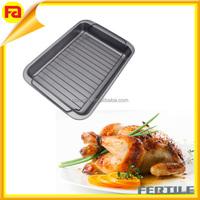 ovenware Turkey roaster pan,shallow Roasting baking Pan with Nonstick Rack / Cookware