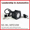 NSSC CHINA factory 10W super brightness Motorcycle led offroad driving lamp accessories work lamp