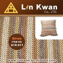 2015 new nonwoven design custom cushion cover for outdoor knit fabric