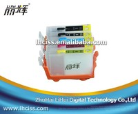 LIFEI 4 colors PGI-5 CLI-8 refillable ink cartridge with reset chip for CANON IP3300 IP3500