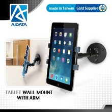 Universal Rotating Adjustable Wall Mount Tablet Holder