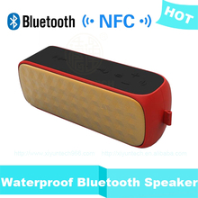portable NFC power bank waterproof stereo amplified outdoor bluetooth speakers