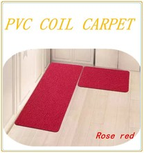 high-quality PVC coil carpet and waterproof rug/carpet floor carpet