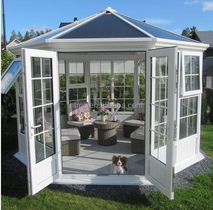 Aluminum Window Plastic In  Houses : Fashion Design Aluminum Glass House/sunroom With Double Glazing Glass ...