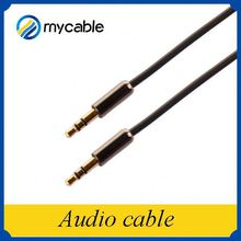 Alibaba china p audio speakers cable with male to male metal shell