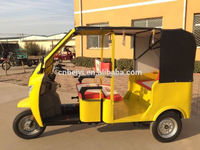 3 wheel motocycle choper container metal semi cabin tricycle
