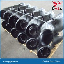 ASTM A234 WPB Seamless Carbon Steel ASME / ANSI B 16.9 pipe elbow dimensions