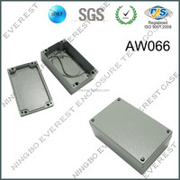 rectangle aluminum waterproof box