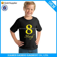 Fashion Custom Printing Trendy Boy'S T Shirt High Quality Lovely Cartoon Printed
