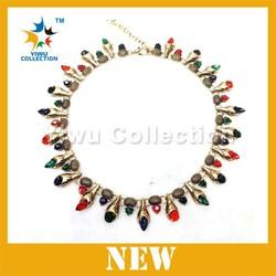 flower statement necklace, cheap bulk jewelry, necklace fashion jewerly 2015