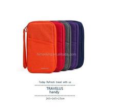 fashion travel passport travel bag/passport case