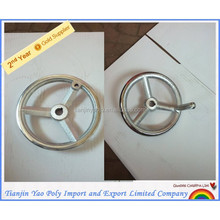 Cast-Iron Material Light-grey Ware wheel with Cr coating