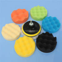 2015 8pcs Sponge Polishing waxing Buffing Pads Kit Compound-Polishing-Auto Car Dril