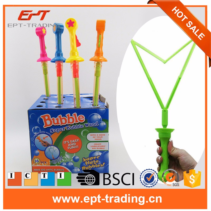 Wholesale Extended Western bubble wand long bubble water gun toys children's toys.jpg