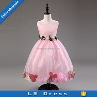 wholesale girl clothes nursery clothing kids flower princess wedding dresses