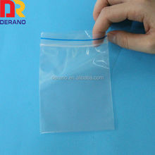 High quality 28micron LDPE ziplock bag with color line