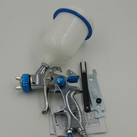 2015 new type chrome plating single nozzle hvlp paint gun wholesale spray paint air spray gun high pressure water spray gun pcp