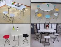 Garden outdoor furniture Plastic Stool/Foldable Gardening stool,portable triangle plastic seat folding stool folding chairs