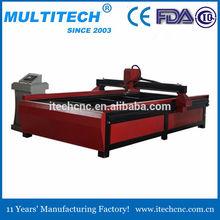 de corte por plasma de la máquina para el hierro y el acero para la venta
