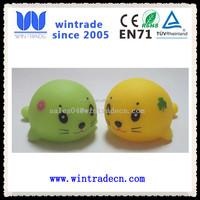 OEM vinyl plastic sea lion bath toy for kids