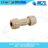 Compression Coupling cpvc pipe fittings with Inspection Port for Drainage