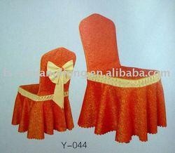 wedding chair cover/jacquard chair cover/banquet chair cover