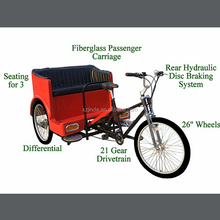 moped rickshaw tricycle