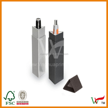 New design Gable gift box for pen with your logo