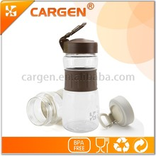Easy to carry 550ml eco friendly outdoor plastic water