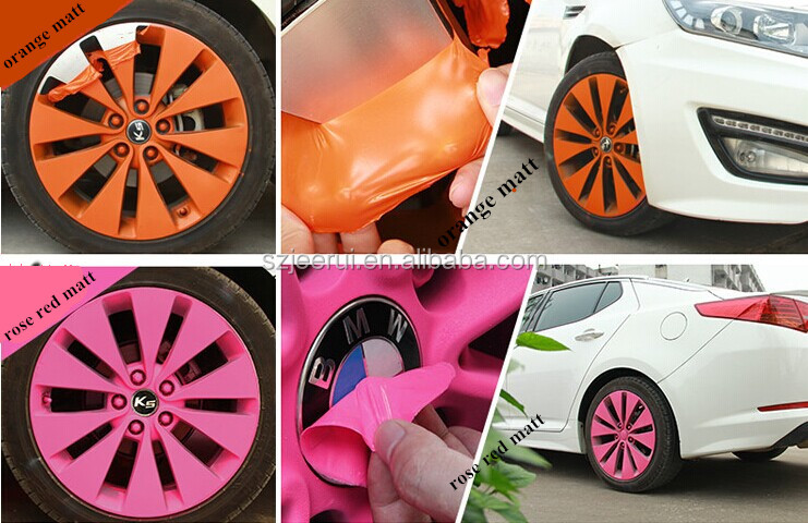 car rim removable spray paint cheap and best car protective decorative. Black Bedroom Furniture Sets. Home Design Ideas