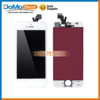 For iphone 5c lcd screen digitizer assembly touch display complete with best good quality and wholesale price