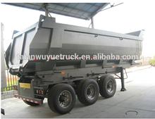 nuevo 16 cbm 3 ejes del remolque volquete camión volquete para transportant con buena calidad y precio barato