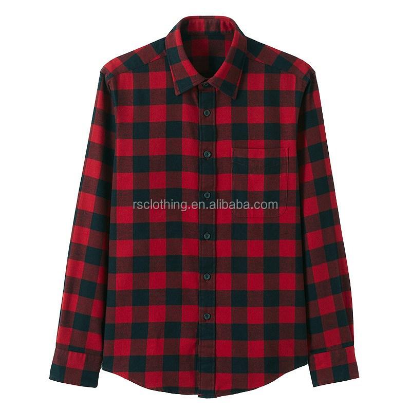 Mens heavy cotton plaid flannel shirt mens casual shirt for Heavy plaid flannel shirt