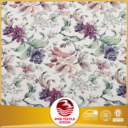 70% polyester 30% cotton classical European floral upholstery design jacquard sofa fabric sample book