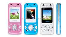 emergency call sos button cell phone locator gps, kids mp3 cell phone for birthday gift