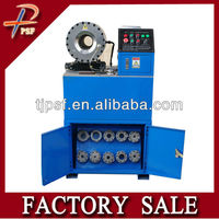 Professional manufacturer hydraulic pipe pressing machine with workbench and quick change tools