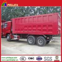 Hydraulic Dumper Sino Howo Dump Truck with 260-371Hp for Sale