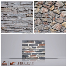 Faux stone for wall decoration